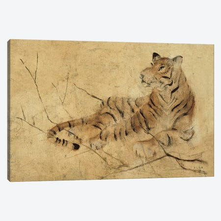 Global Tiger Light Canvas Print #BLU4} by Cheri Blum Canvas Print