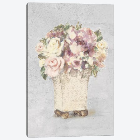 Parlor Roses II Sage 3-Piece Canvas #BLU7} by Cheri Blum Canvas Print
