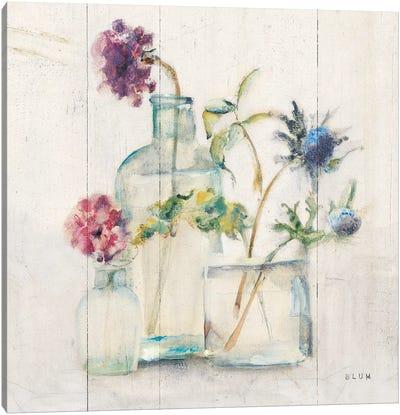 Blossoms II Light Canvas Art Print