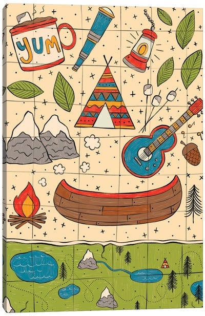 Everyday Big Adventure II Canvas Art Print