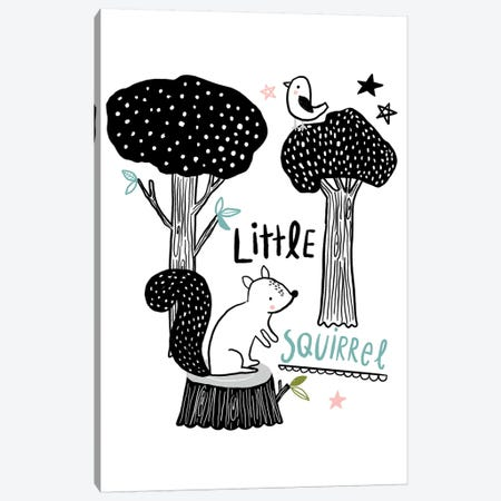 Everyday Inky Critters IV Canvas Print #BLW23} by Lisa Barlow Canvas Artwork