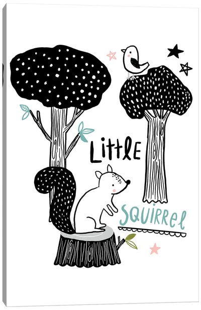 Everyday Inky Critters IV Canvas Art Print