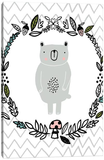 Everyday Inky Critters VI Canvas Art Print