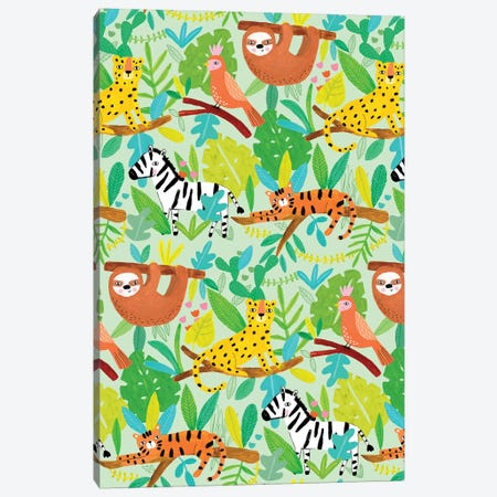Everyday Totally Tropical I Canvas Print #BLW2} by Lisa Barlow Canvas Art