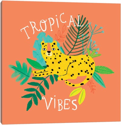 Everyday Totally Tropical II Canvas Art Print