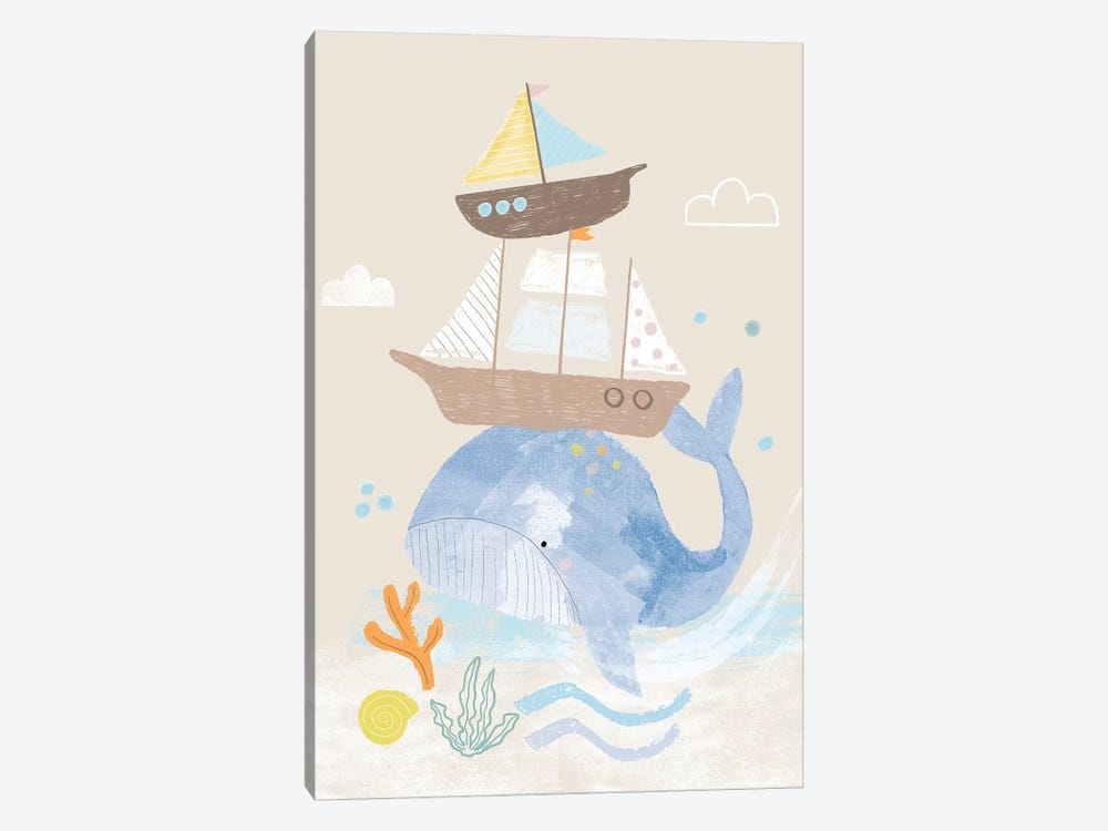 Everyday Under The Sea I by Lisa Barlow 1-piece Canvas Artwork
