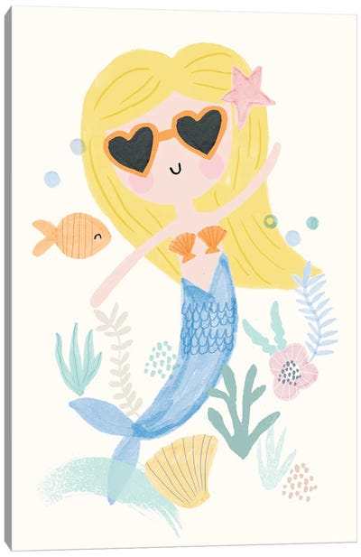 Everyday Under The Sea III Canvas Art Print