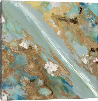 Continental Drift II Canvas Print #BLY14