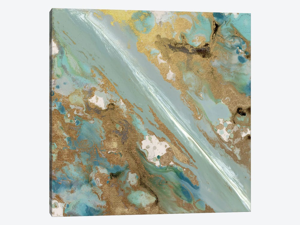 Continental Drift II by Blakely Bering 1-piece Canvas Print