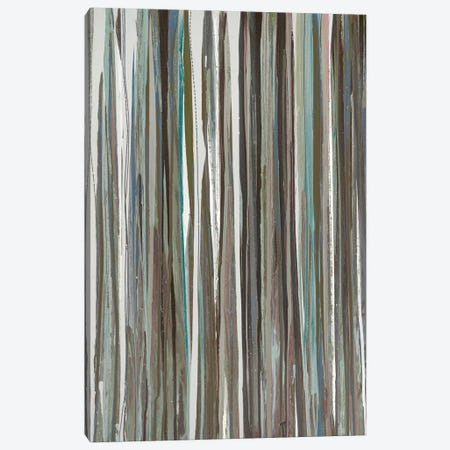 Cool Stripes Canvas Print #BLY15} by Blakely Bering Canvas Artwork