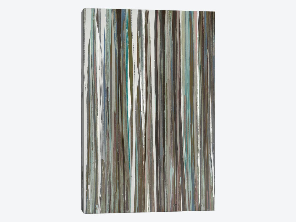 Cool Stripes by Blakely Bering 1-piece Canvas Art