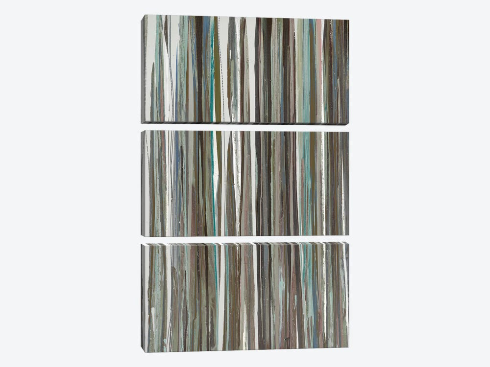 Cool Stripes by Blakely Bering 3-piece Canvas Art