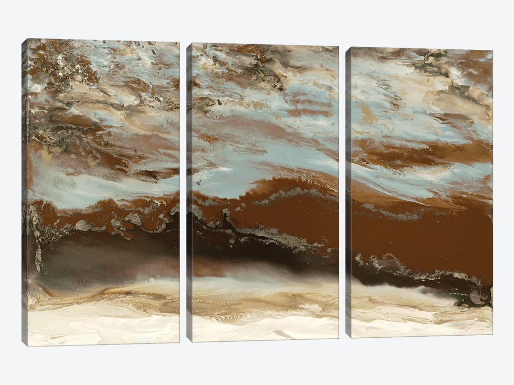Copper River by Blakely Bering 3-piece Canvas Art Print