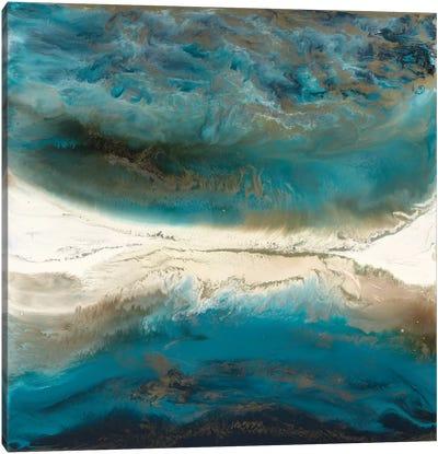 Cosmic Balance Canvas Print #BLY17