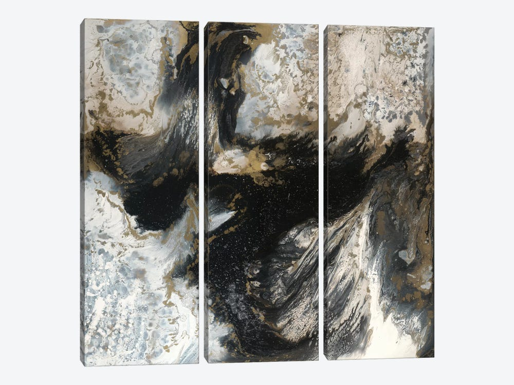Cosmic Storm by Blakely Bering 3-piece Canvas Art Print