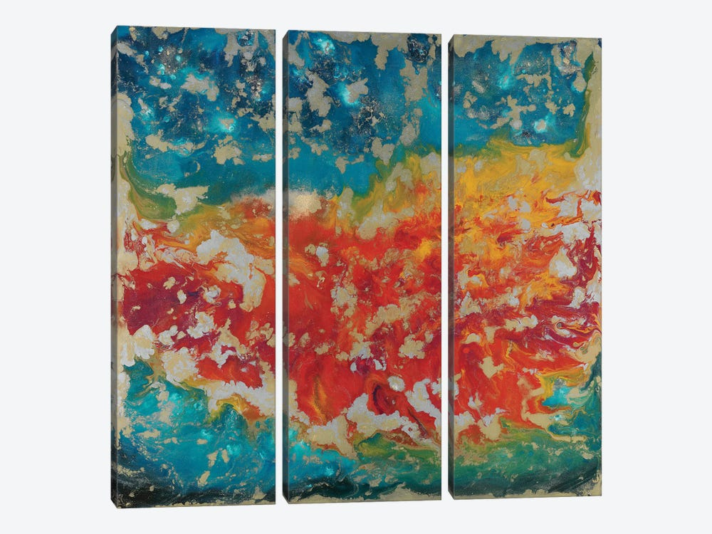 Dawn Glow by Blakely Bering 3-piece Canvas Wall Art