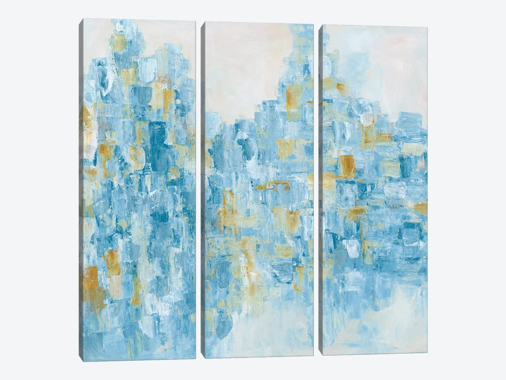 Drifting Horizon by Blakely Bering 3-piece Canvas Art
