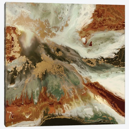 Fluid Copper Canvas Print #BLY21} by Blakely Bering Canvas Wall Art