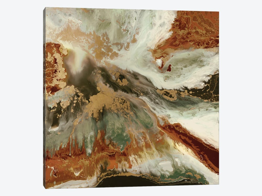 Fluid Copper 1-piece Art Print
