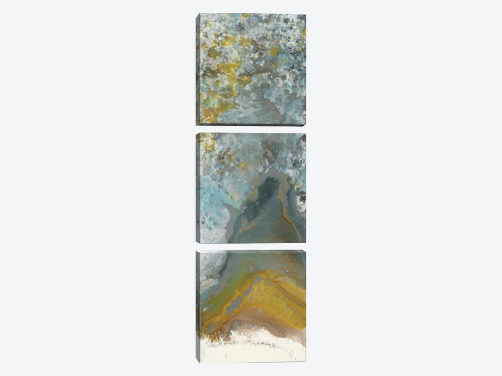 Golden Bloom by Blakely Bering 3-piece Canvas Art Print