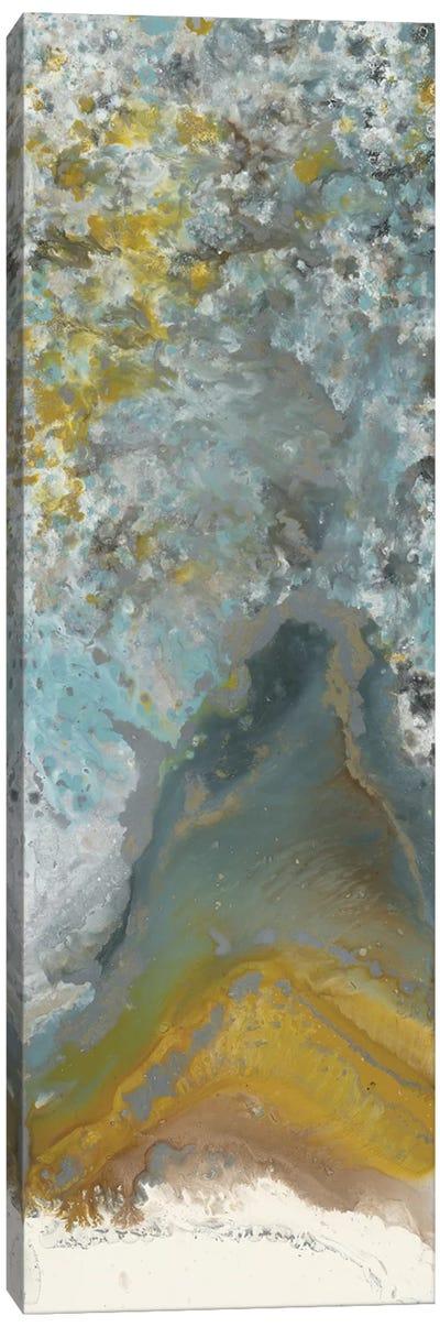 Golden Bloom Canvas Art Print