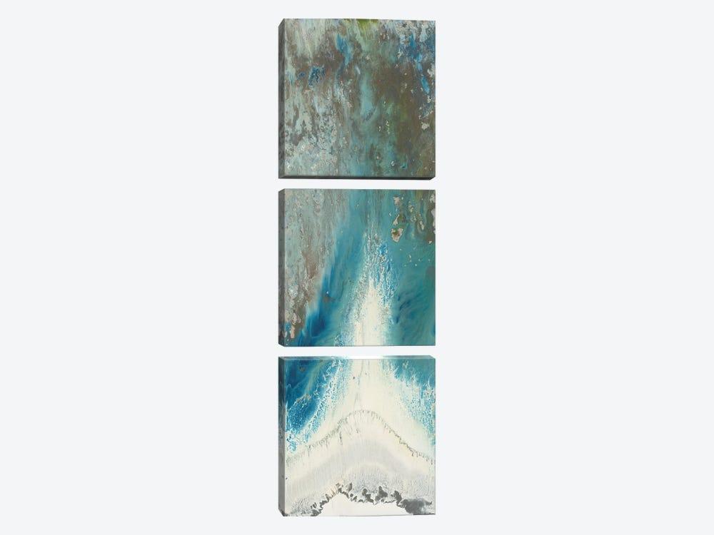 Heliotrope II by Blakely Bering 3-piece Canvas Art