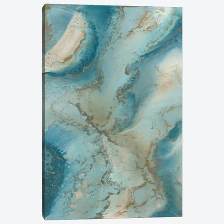 Agate Inspired Canvas Print #BLY2} by Blakely Bering Canvas Art