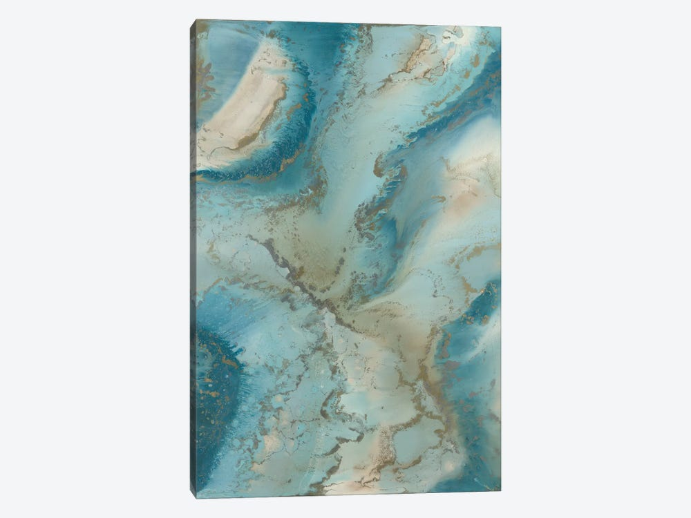 Agate Inspired by Blakely Bering 1-piece Canvas Wall Art