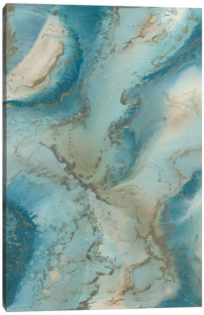 Agate Inspired Canvas Art Print