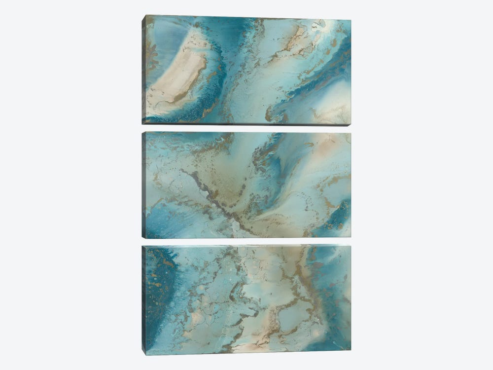 Agate Inspired by Blakely Bering 3-piece Canvas Art