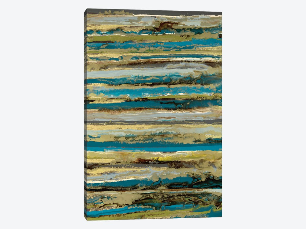 Lines by Blakely Bering 1-piece Canvas Wall Art