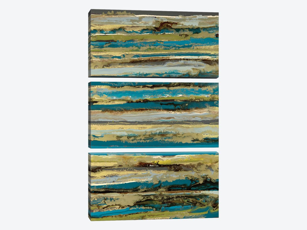 Lines by Blakely Bering 3-piece Canvas Wall Art