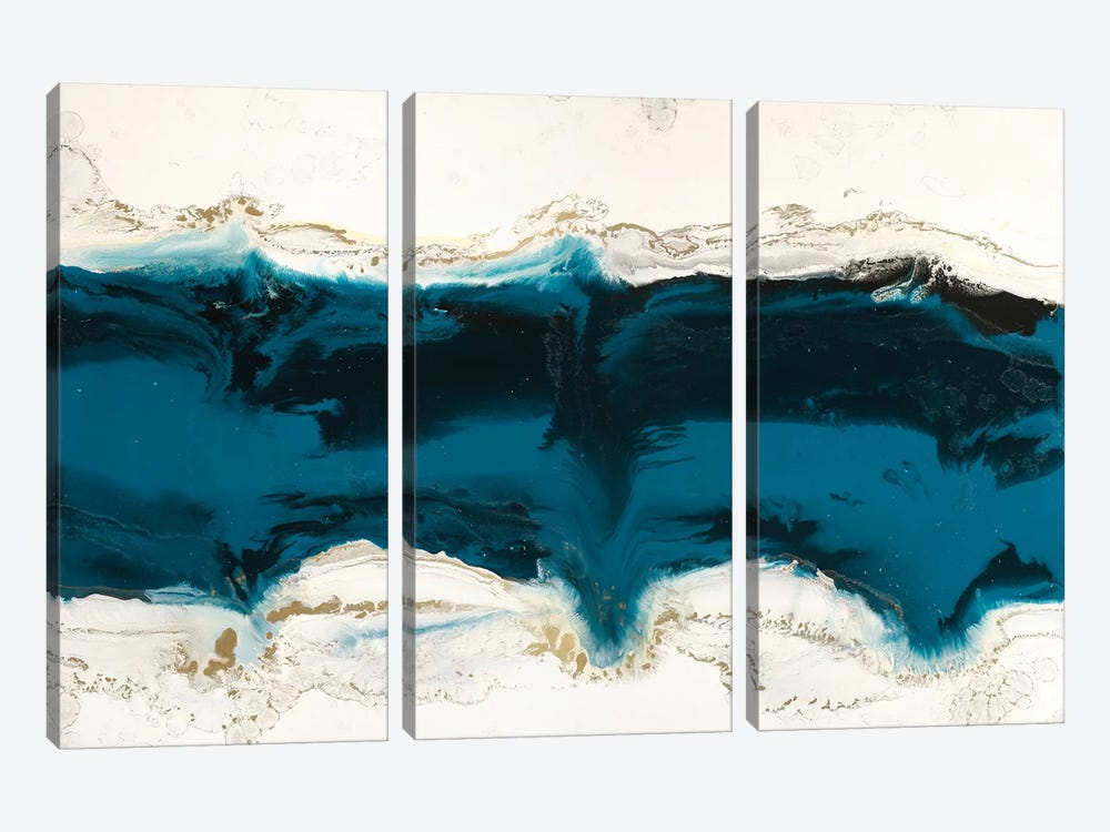 Liquid Ice by Blakely Bering 3-piece Art Print