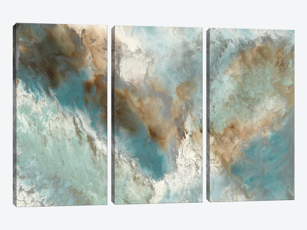 Liquid Versus Nature by Blakely Bering 3-piece Canvas Artwork