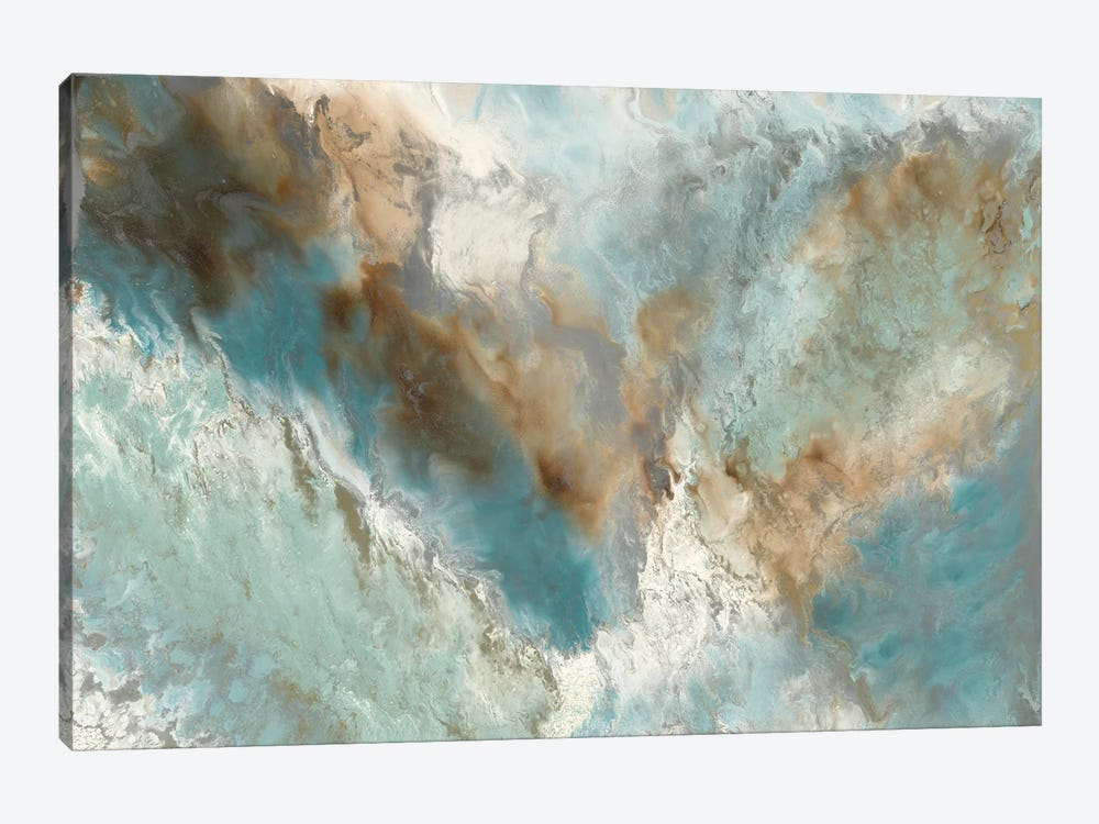 Liquid Versus Nature by Blakely Bering 1-piece Canvas Wall Art