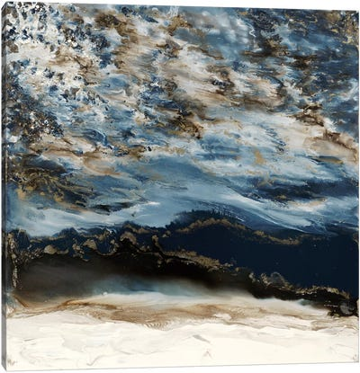 Midnight Wave Canvas Art Print