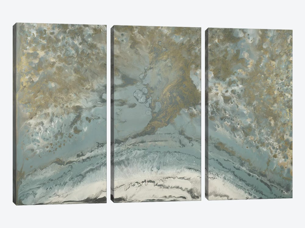 Along The Coast by Blakely Bering 3-piece Canvas Art Print