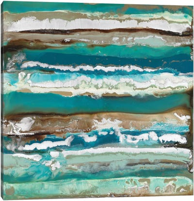 Ocean Layers Canvas Art Print