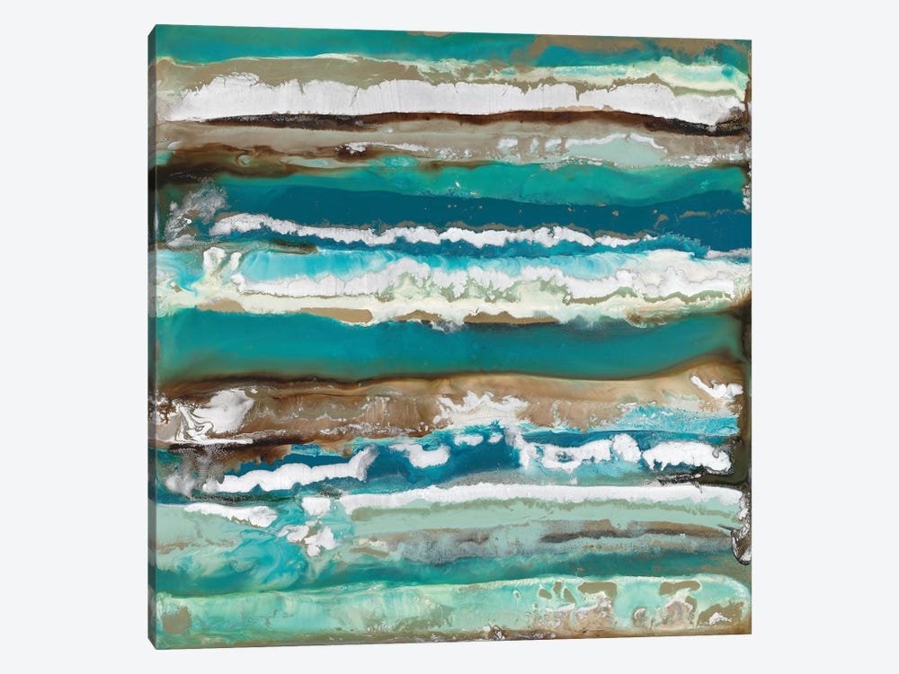 Ocean Layers by Blakely Bering 1-piece Canvas Artwork