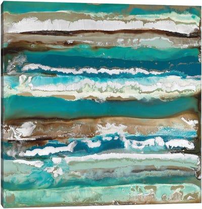 Ocean Layers Canvas Art Print