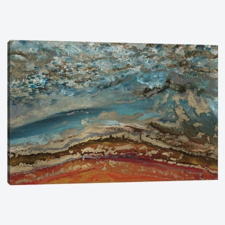 Red Ridge Canvas Print #BLY47} by Blakely Bering Canvas Art Print