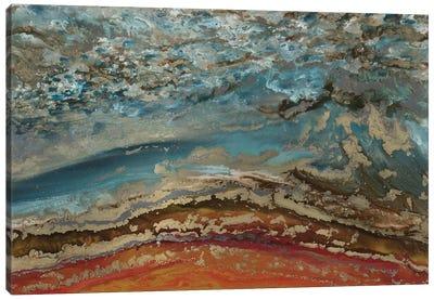 Red Ridge Canvas Art Print