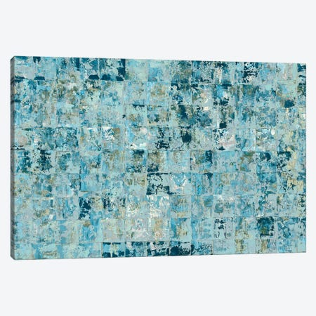 Blue Tiles Canvas Print #BLY63} by Blakely Bering Canvas Art