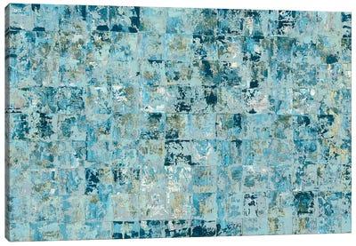 Blue Tiles Canvas Art Print