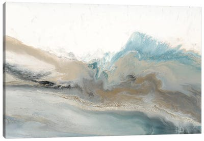 Coastline Whisper Canvas Art Print