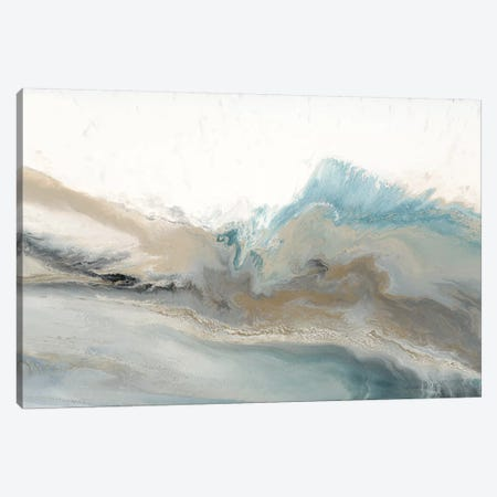 Coastline Whisper Canvas Print #BLY65} by Blakely Bering Canvas Art Print