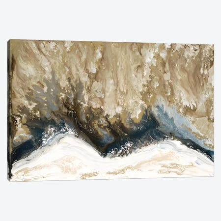 Elemental Wave Canvas Print #BLY69} by Blakely Bering Canvas Wall Art