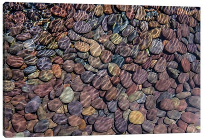 Colorful Stones II Canvas Art Print