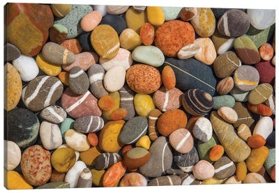 Beach Stones Collection Canvas Art Print