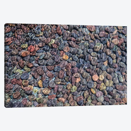 Colorful Stones I Canvas Print #BMA9} by Barbara Markoff Canvas Wall Art